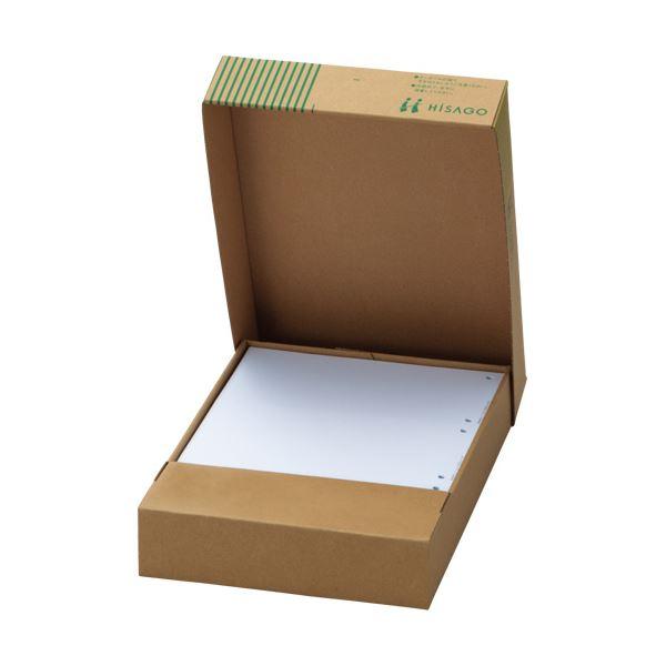 TANOSEE マルチプリンター帳票(FSC森林認証紙) A4白紙 2穴 1箱(500枚) 【×2セット】f00