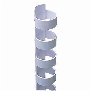 (まとめ)カール事務器コームリング直径13mmホワイトTC-13W1パック(10本)【×10セット】