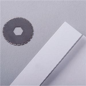(まとめ) カール事務器 ディスクカッター替刃 ミシン目刃 K-29 1パック(2枚) 【×10セット】