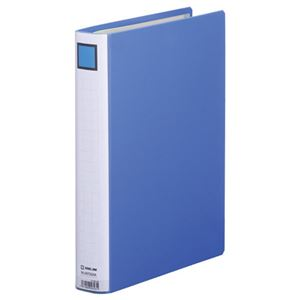 (まとめ) キングファイル スーパードッチ(脱・着)イージー GXシリーズ A4タテ 300枚収容 背幅46mm 青 2473GXA 1冊 【×10セット】