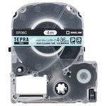 (まとめ) キングジム テプラ PRO テープカートリッジ ヘッドクリーニングテープ 36mm SR36C 1個 【×2セット】