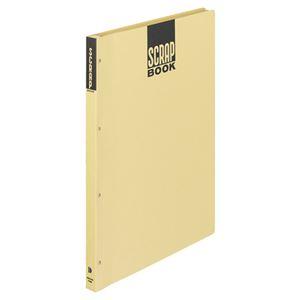 (まとめ) コクヨ スクラップブックD(とじこみ式) A3 中紙28枚 背幅25mm クラフト ラ-43N 1冊 【×5セット】