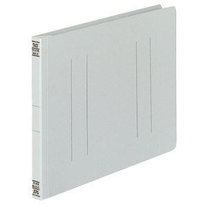 (まとめ)コクヨフラットファイルV(樹脂製とじ具)B5ヨコ150枚収容背幅18mmグレーフ-V16M1パック(10冊)【×5セット】