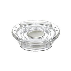 (まとめ) コクヨ 超強力カラーマグネット(ネオマグ) 直径30×高さ7mm 透明 マク-1030NT 1箱(4個) 【×15セット】