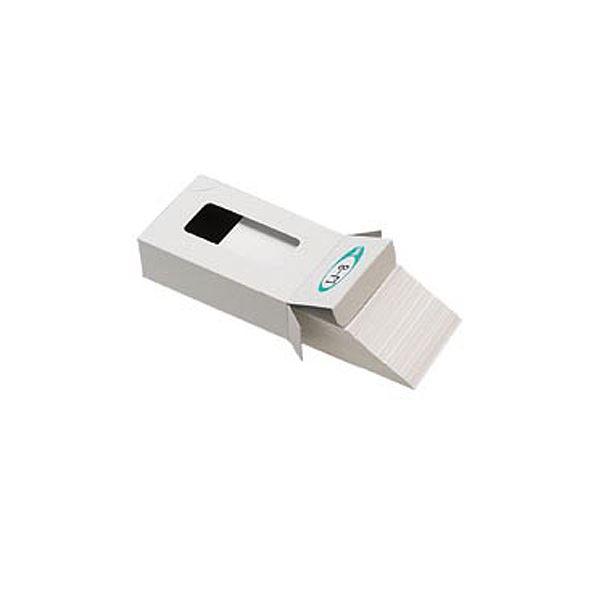 ジャストコーポレーション カラーIJ専用名刺用紙 ホワイト 厚手 IJ-8C 1箱(100枚) 【×10セット】f00