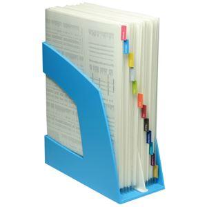(まとめ) ソニック ファイルボックス 仕切板付 A4タテ 背幅107mm ピンク FB-708-P 1個 【×5セット】
