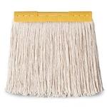 (まとめ) テラモト FXモップ替糸(J)24cm 260g イエロー CL-374-421-5 1個 【×10セット】の画像