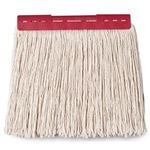 (まとめ) テラモト FXモップ替糸(J)24cm 260g レッド CL-374-421-2 1個 【×10セット】の画像