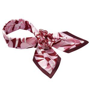 (まとめ) ナカヒロ コサージュスカーフ ピンク A1920-38 1枚 【×2セット】 h01