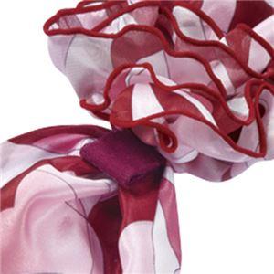 (まとめ) ナカヒロ コサージュスカーフ ピンク A1920-38 1枚 【×2セット】 h03