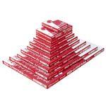 (まとめ) フジプラ ラミネートフィルム 診察券サイズ 100μ FCP1070100 1パック(100枚) 【×10セット】