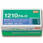 (まとめ) マックス ホッチキス針 大型12号シリーズ 100本連結×18個入 1210FA-H 1箱 【×10セット】