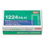 (まとめ) マックス ホッチキス針 大型12号シリーズ 100本連結×6個入 1224FA-H 1箱 【×5セット】