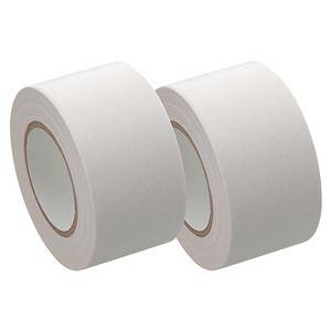 (まとめ) ヤマト メモック ロールテープ 再生紙タイプ つめかえ用 25mm幅 白 R-25H-5 1パック(2巻) 【×15セット】
