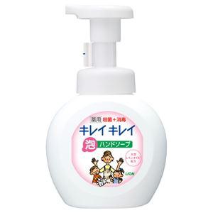 (まとめ) ライオン キレイキレイ 薬用泡ハンドソープ 本体 250ml 1個 【×10セット】
