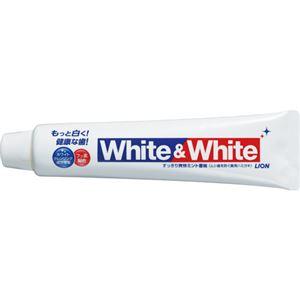 (まとめ) ライオン ホワイト&ホワイトライオン ハミガキ 150g HMWE*P 1本 【×20セット】