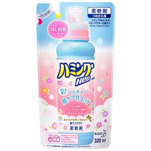 (まとめ)花王ハミングNeoベビーパウダーの香りつめかえ用320ml1個【×15セット】