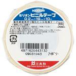(まとめ) 共和 ミリオンビニールテープ 19mm×10m アイボリー HF-1113-A 1巻 【×60セット】