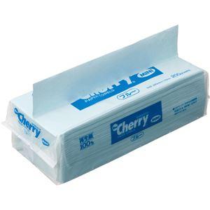 (まとめ)新橋製紙ニューチェリーミニペーパータオルエコノミーブルー200枚CH2040B1パック【×30セット】