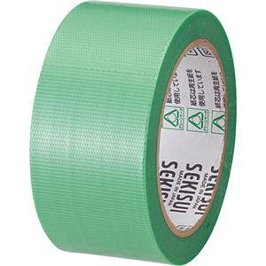 (まとめ) 積水化学 透明クロステープ No.781 50mm×25m 緑 N78SG03 1巻 【×15セット】