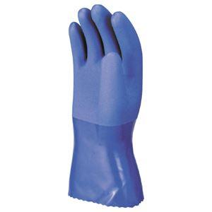 (まとめ) 川西工業 耐油マックス L ブルー #2300-L 1双 【×15セット】