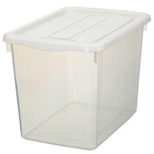 (まとめ) 天馬 フリーボックス 40深型 ホワイト 1個 【×5セット】