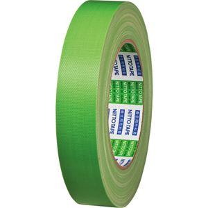 【訳あり・在庫処分】 (まとめ) 日東電工 ニトクロステープ 25mm×25m 緑 7500-25 1巻 【×20セット】