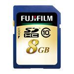 (まとめ) 富士フィルム FUJI SDHCカード 8GB Class10 SDHC-008G-C10 1枚 【×2セット】