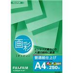 (まとめ) 富士フィルム FUJI 画彩 普通紙仕上げ A4 HKA4250 1冊(250枚) 【×10セット】