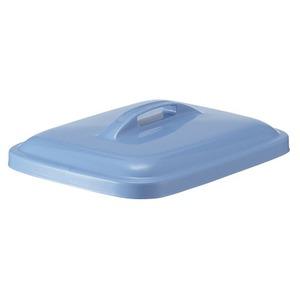 【本体別売】(まとめ)積水テクノ成型 エコポリペール 角型 45L フタのみ ブルー PEKF4B 1個 【×2セット】