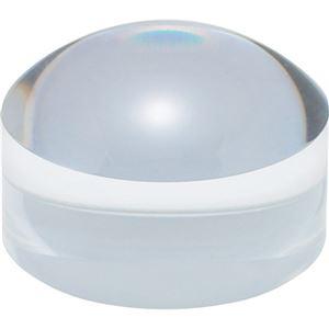 (まとめ) 共栄プラスチック ドーム型ブロックルーペクリア BDL-1500 1個 【×5セット】