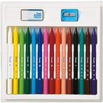 (まとめ) ぺんてる 小学校色えんぴつ12色+3色(各色1本) GCG1-12P3 1個 【×5セット】