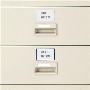 (まとめ) ライオン事務器 マグネット見出し55×91mm ブルー CP-662 1パック(3枚) 【×5セット】