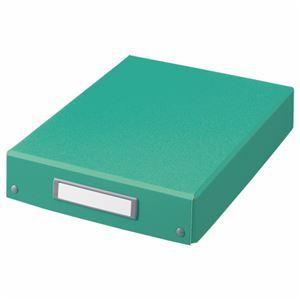 (まとめ) ライオン事務器 デスクトレー A4グリーン DT-13C 1個 【×5セット】