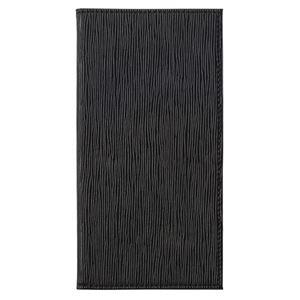 (まとめ) シンビ マグネット式伝票ホルダー 水絞柄ブラック EMS-5 1個 【×5セット】