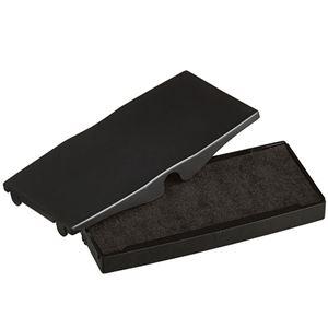 (まとめ)シャイニースタンプ内蔵型角型印S-855専用パッド黒S-855-7B1個【×10セット】