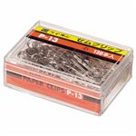 (まとめ) ライオン事務器 ゼムクリップ 小23mm P-13 1箱(130本) 【×30セット】