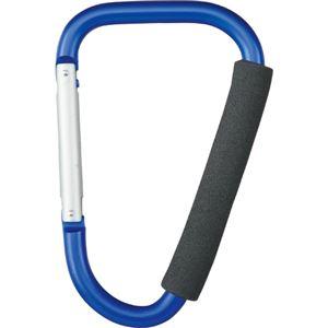 (まとめ) 高儀 ビッグカラビナ 200mm ブルー651821-200BL 1個 【×10セット】