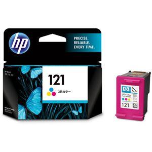 (まとめ)HPHP121プリントカートリッジ3色カラーCC643HJ1個【×3セット】