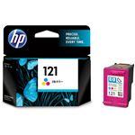 (まとめ)HP HP121 プリントカートリッジ3色カラー CC643HJ 1個 【×3セット】