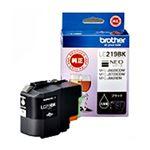 (まとめ)ブラザー インクカートリッジ ブラック大容量 LC219BK 1個 【×2セット】