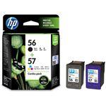 HP HP56/57プリントカートリッジ 黒・カラー CC629AA 1箱(2個:各色1個)