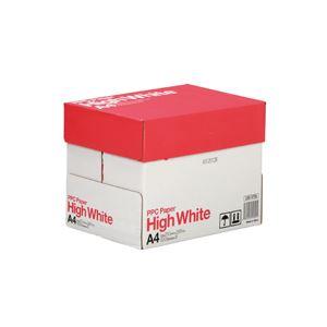 (まとめ)PPCPAPERHighWhiteA41箱(2500枚:500枚×5冊)【×3セット】