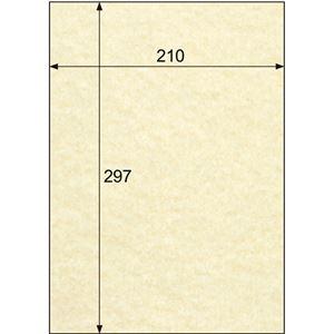 (まとめ)ヒサゴクラッポヴェールベージュA4CV06A41冊(100枚)【×3セット】
