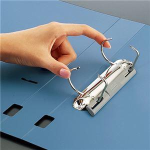 (まとめ)コクヨ DリングファイルS型再生PP表紙 B5タテ 2穴 300枚収容 背幅45mm 青 フ-FD431NB 1冊 【×10セット】