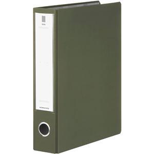 (まとめ)コクヨチューブファイル(NEOS)A4タテ500枚収容50mmとじ背幅65mmオリーブグリーンフ-NE650DG1冊【×10セット】