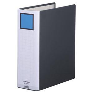 (まとめ)キングジム キングファイルスーパードッチ GXシリーズ A4タテ 800枚収容 80mmとじ 背幅96mm 黒 1478GX 1冊 【×10セット】