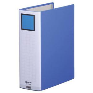 (まとめ)キングジム キングファイルスーパードッチ GXシリーズ A4タテ 800枚収容 80mmとじ 背幅96mm 青 1478GX 1冊 【×10セット】