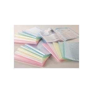 (まとめ)TANOSEE クリアファイル A4タテ10ポケット 背幅8mm グリーン 1セット(10冊) 【×5セット】