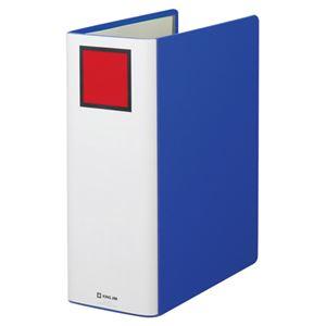 (まとめ)キングジムキングファイルスーパードッチA4タテ1000枚収容100mmとじ背幅116mm青14701冊【×5セット】